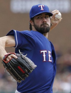 Hamels pitched the Rangers to the AL West crown. Who are you rooting for in the playoffs? Photo: Star-Telegram